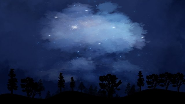 sky star starry sky night llustration image