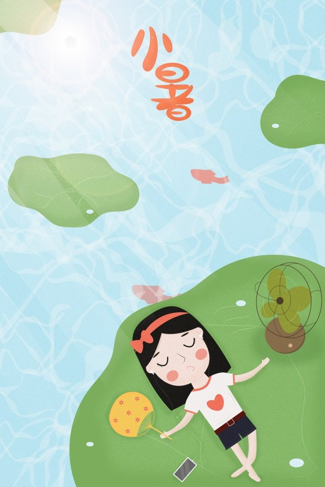 small heat great heat lotus leaf pond llustration image