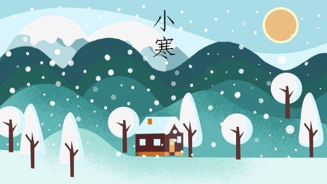solar terms osamu winter winter llustration image