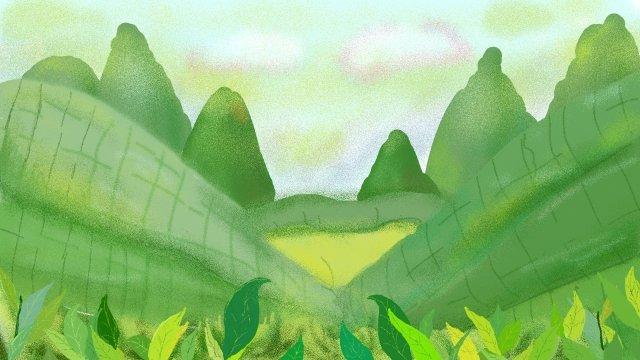 春のさわやかな一歩 イラストレーション画像 イラスト画像