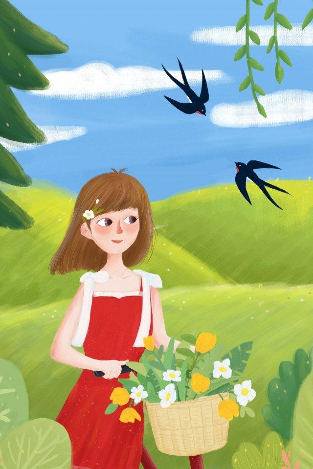 春の春孤独春の始まり イラスト素材