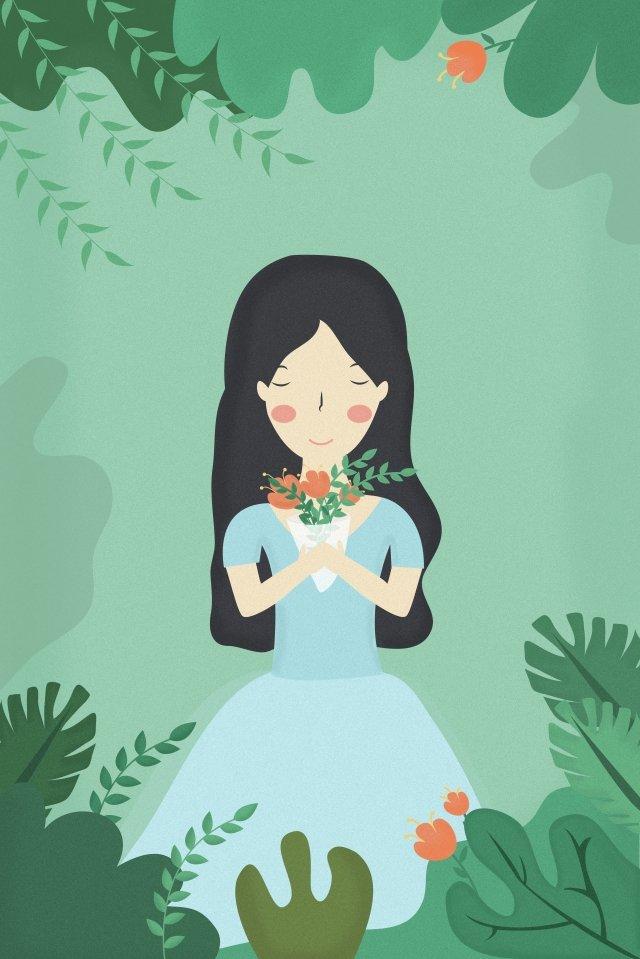 春春ツアー遠出旅行 イラストレーション画像