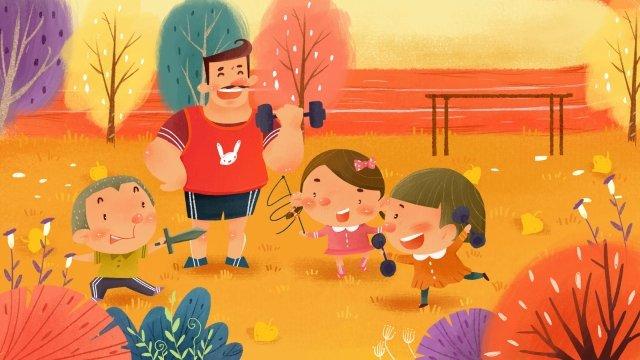 стадион национальный фитнес день фитнес детский Ресурсы иллюстрации