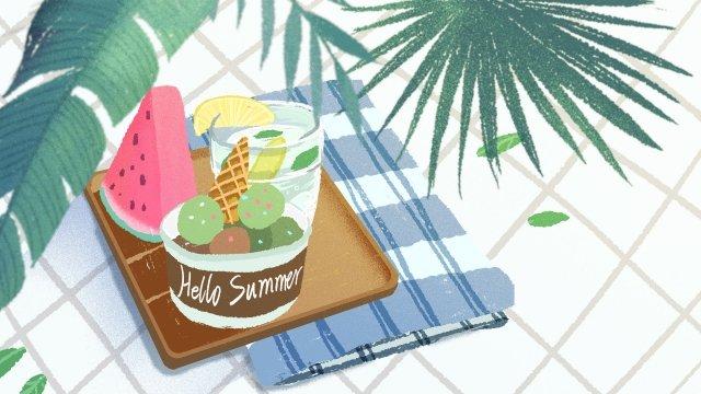 夏の夏夏の夏 イラスト素材