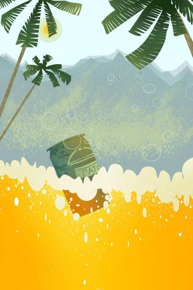 サンマウンテンビールビール祭り イラストレーション画像 イラスト画像