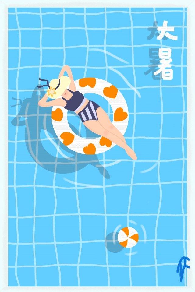 piscina bola bola lifebuoy imagem de ilustração