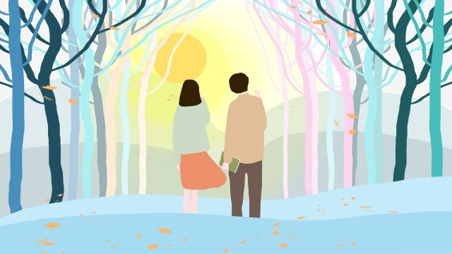 tanabata valentines day forest appointment llustration image illustration image