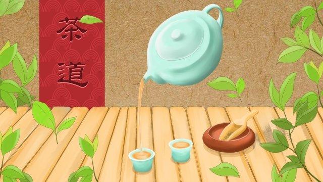 чай чайная церемония чай арт чай Ресурсы иллюстрации Иллюстрация изображения