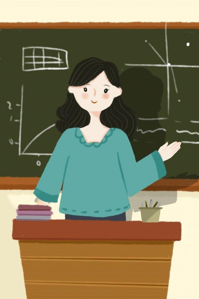 先生の日先生の教室クラス イラスト画像