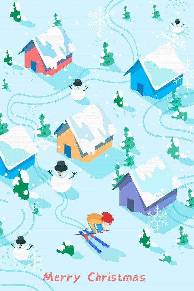 top xem trượt tuyết mùa đông Hình minh họa