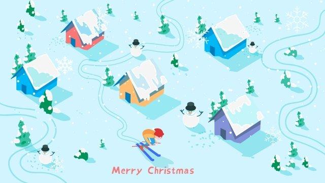 top xem trượt tuyết mùa đông Hình minh họa Hình minh họa