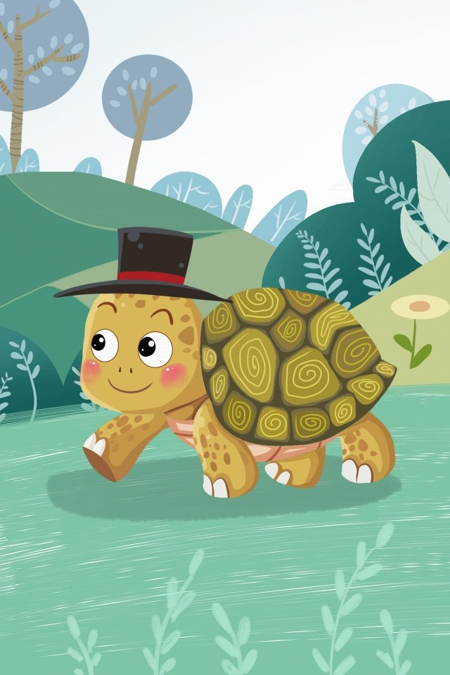 tortoise animal little turtle turtle llustration image