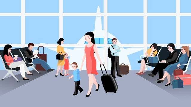 tourism business travel parent child global tourism day llustration image illustration image