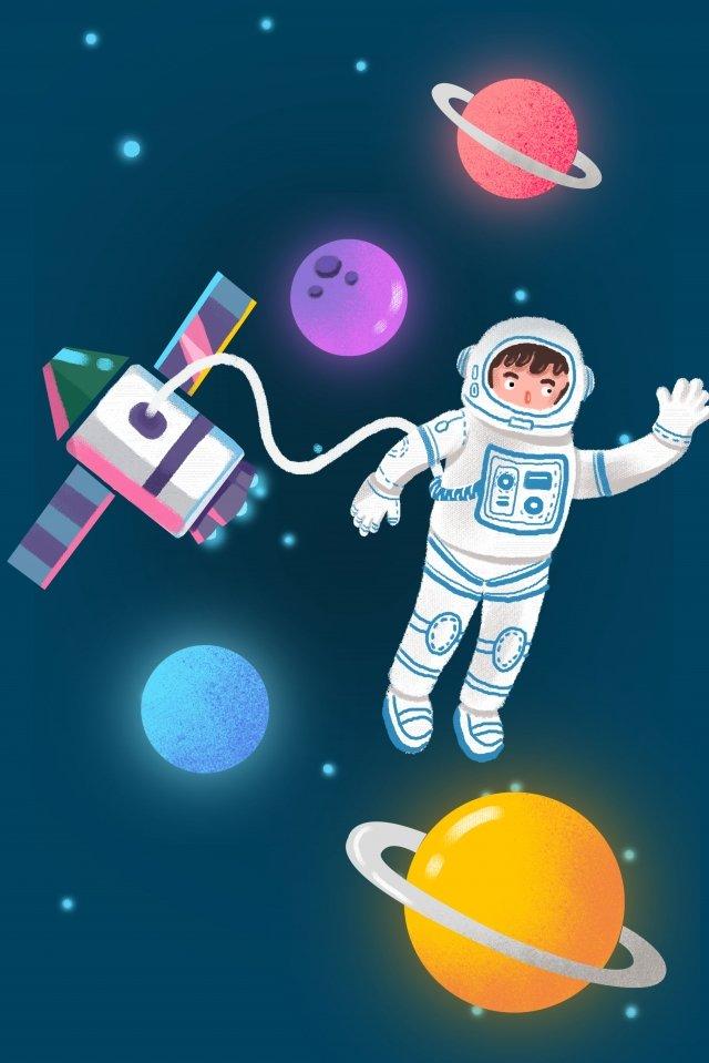 宇宙宇宙空宇宙飛行士 イラスト素材