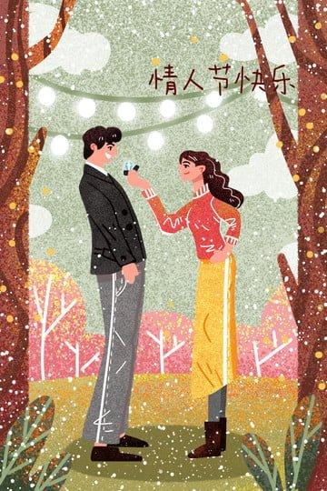 情人節例證夫婦例證tanabata例證婚禮例證情人節材料 插畫素材 插畫圖片