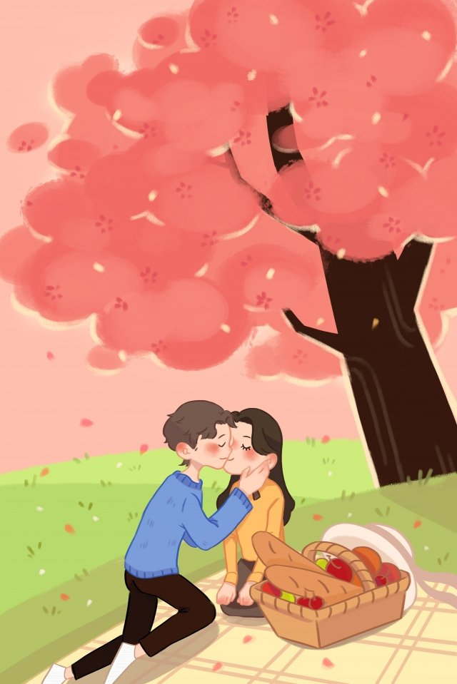 valentines day lover ambiguous sweet, Embrace, Kiss, Warm illustration image
