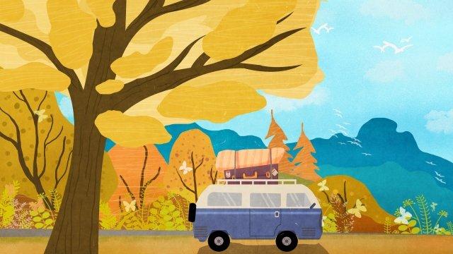 vallée feuilles montagnes forêt image d'illustration image d'illustration
