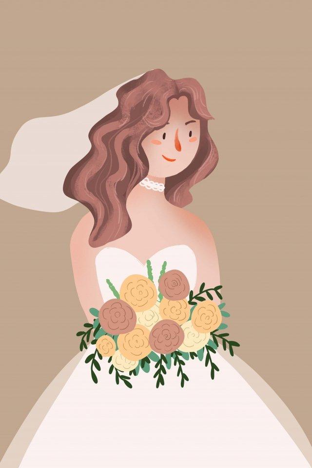 शादी की पोशाक किशोर लड़की चित्रण चित्रण चित्रण छवि चित्रण छवि