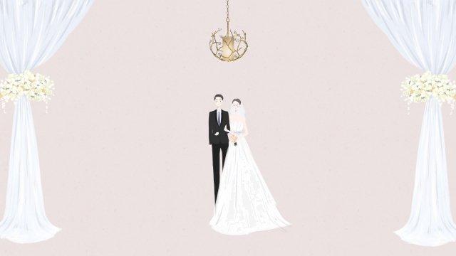 結婚式場聖なるホール 結婚式 結婚する 花嫁 新郎 ホール 花 ブーケ 愛してる結婚式場聖なるホール  結婚式  結婚する PNGおよびPSD illustration image