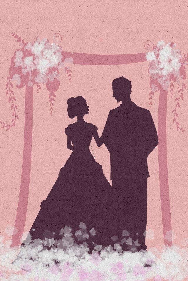 結婚式結婚式結婚花のドア イラスト素材