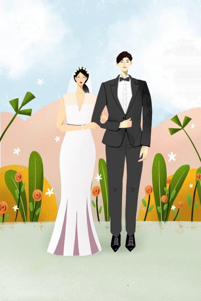 結婚式結婚式結婚ロマンチック イラスト素材 イラスト画像