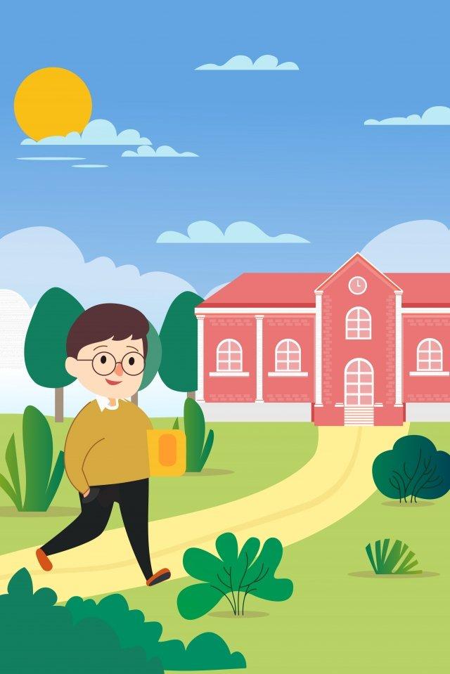 добро пожаловать в университет начать среднюю школу начальная школа Ресурсы иллюстрации Иллюстрация изображения