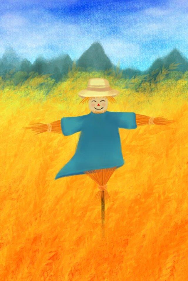 pelindung padang gandum sawah spesies mangga imej keterlaluan