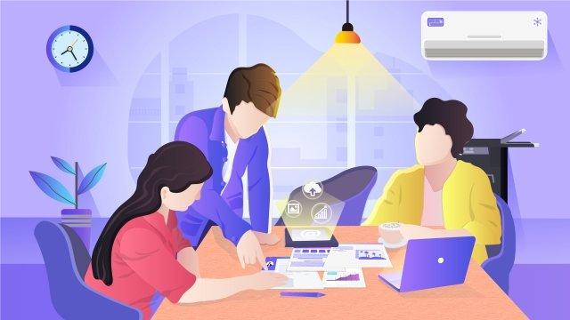 acesso à internet trabalho caça refrescar resumo ilustraçãoEquipe  Masculina  Empregos PNG E Vetor illustration image