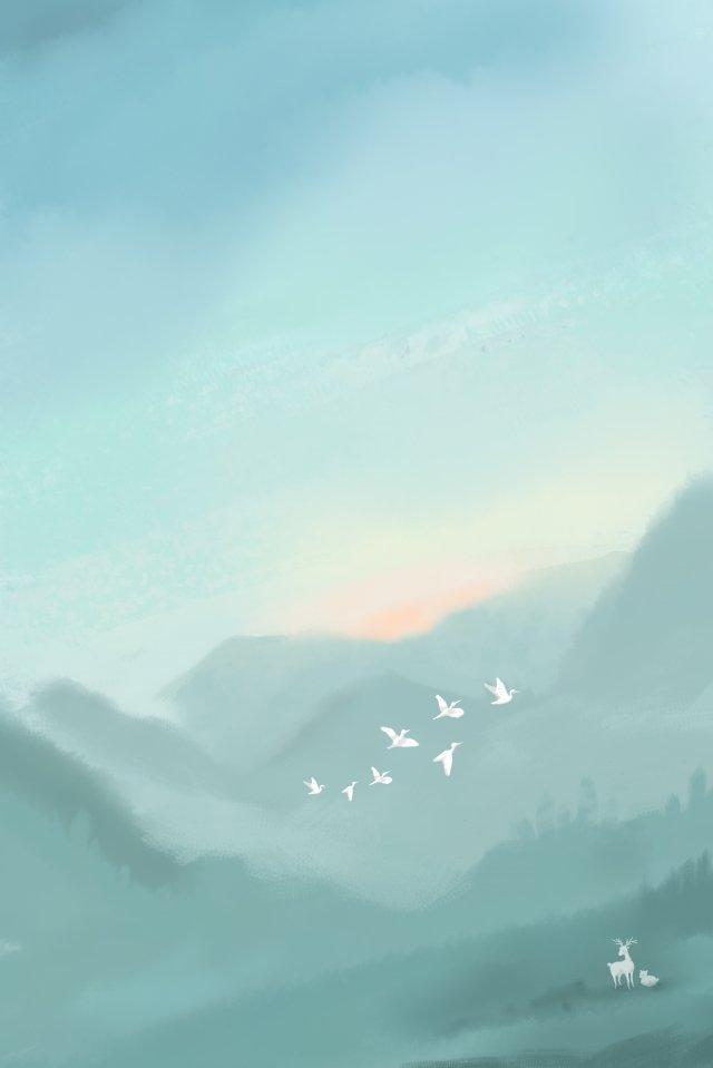 白露灰色の太陽用語の図 イラスト素材 イラスト画像