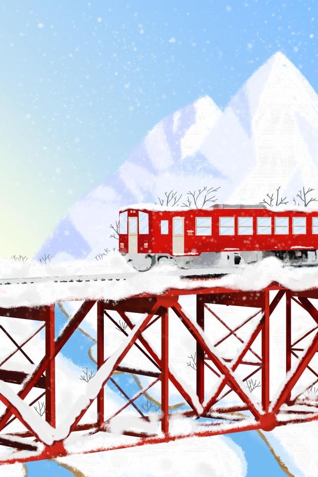 冬の大雪ソーラー用語手描き イラスト素材 イラスト画像