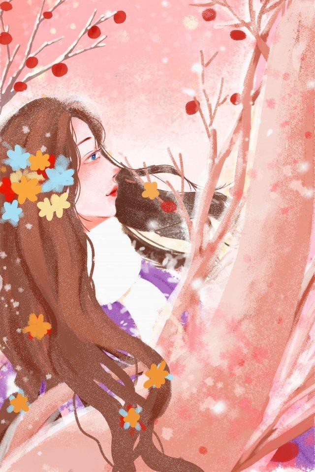 Tải về tài liệu minh họa mùa đông Mùa đông Tuyết Minh họa CâyXanh  Đẹp  Lãng PNG Và PSD illustration image