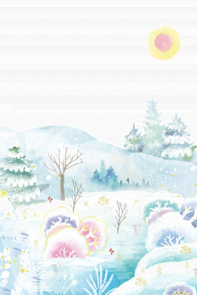 winter solstice osamu solar terms winter illustration image