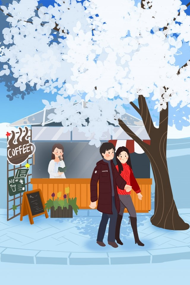 winter winter heavy snow light snow llustration image illustration image