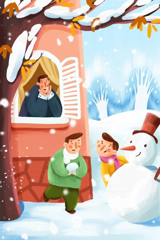 Tải về tài liệu minh họa mùa đông Mùa đông Mùa đông Tuyết NgườiMùa  Vui  đông PNG Và PSD illustration image