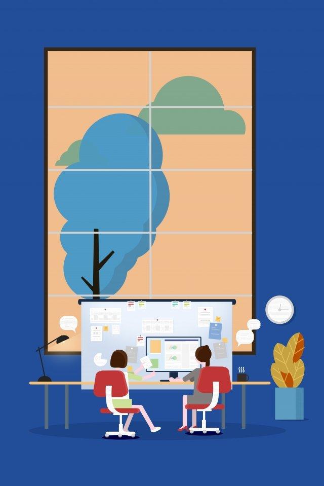 कार्यक्षेत्र नौकरियों सहयोग व्यवसाय चित्रण छवि