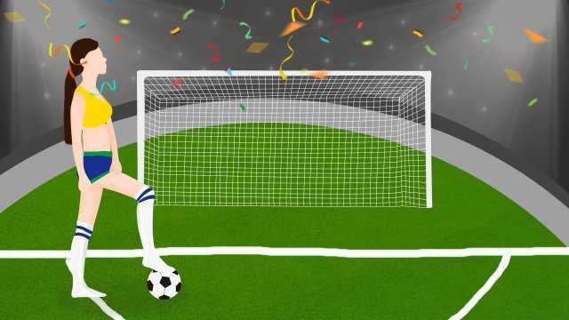 world cup football football baby cheerleader, Come On, Inspire, Performance illustration image