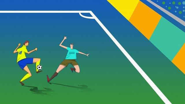 ワールドカップサッカーサッカーゲーム イラスト素材
