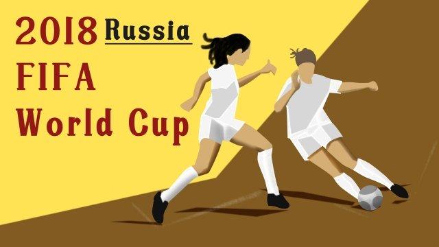 ワールドカップサッカー試合運動サッカー イラスト素材