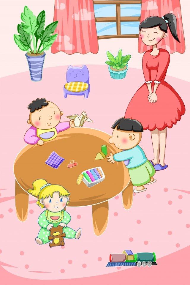 ثقافة تعليم الطفل الصغير مواد الصور المدرجة