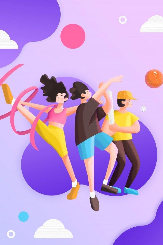 ユースフェスティバル54ユースフェスティバルユースデーモーション イラストレーション画像