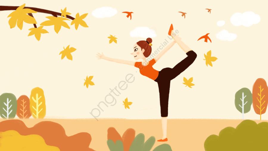 Original 24 Tiết Khí Theo Phong Trào Tập Yoga, Hai Mươi Bốn Tiết, Phong Trào Toàn Cầu, Dân Số llustration image
