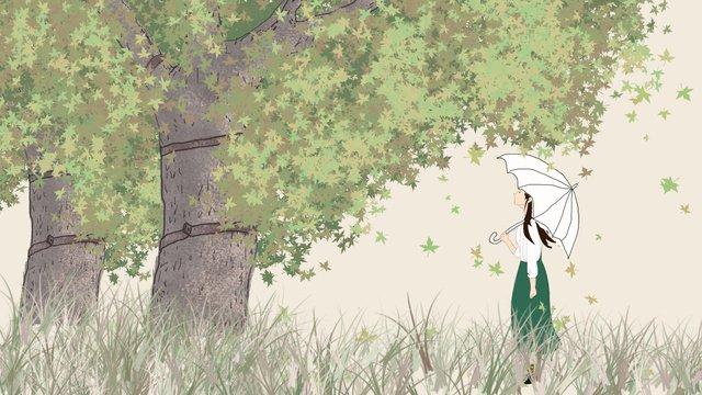 أغسطس hello maple illustrator مواد الصور المدرجة