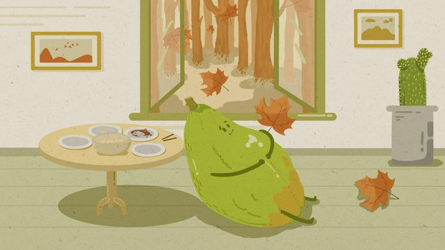 24ノット、秋、秋、秋、オリジナルイラスト イラストレーション画像 イラスト画像
