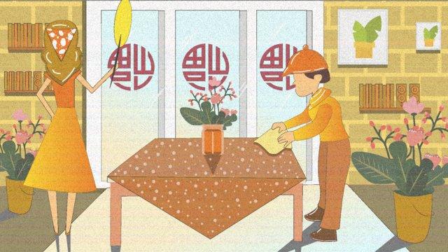 celebrate the new years era clean and big year flat wind illustration llustration image illustration image