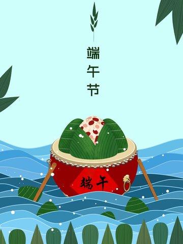kreatif kartun kalajengking dragon boat festival ilustrasi imej ilustrasi