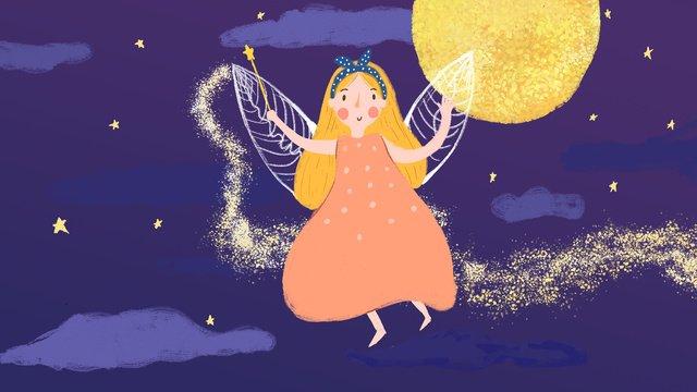hello good night dreams llustration image illustration image