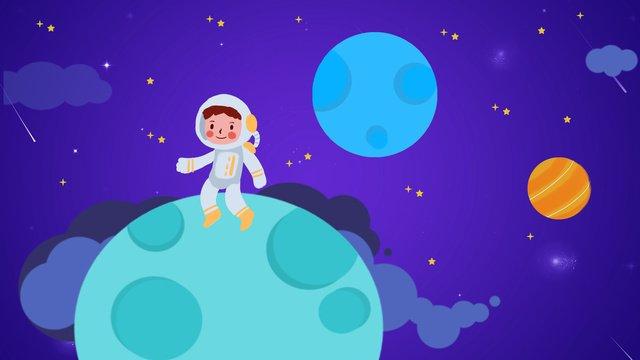 月面着陸は、正常に人間の月の日を記念します イラスト素材