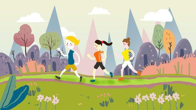 Национальный день спорта Ресурсы иллюстрации Иллюстрация изображения