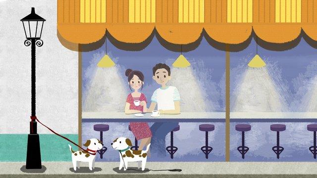 original bằng tay đôi quán cà   phê Hình minh họa Hình minh họa