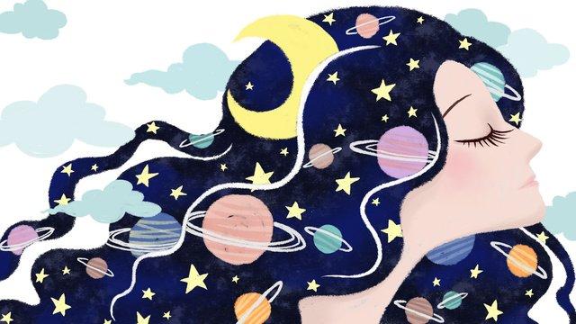 원작 수회성공 소녀 시리즈 삽화 소재 삽화 이미지